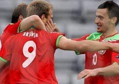 Беларусь минимально обыгрывает Исландию