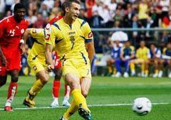 Травма Шевченко не позволит ему сыграть с Францией