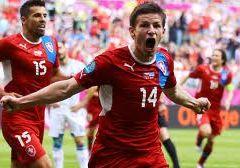 Группа А. Чехия уверенно переигрывает Грецию