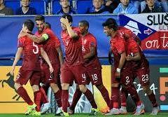Португальцы минимально обыгрывают Англию