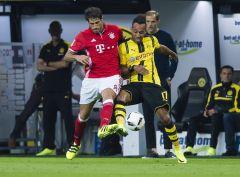 Бавария переигрывает дортмундскую Боруссию в матче за Суперкубок Германии