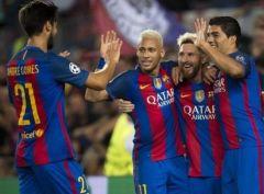 Барселона громит Селтик