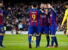 Барселона отгрузила пять мячей в ворота Лас-Пальмаса
