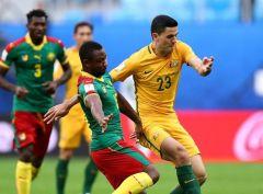 Камерун играет вничью с Австралией
