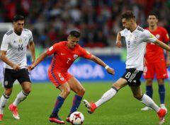 Германия и Чили расписали «гроссмейстерскую ничью»