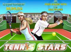 Игровой автомат «Tennis Stars» — сыграй партию в теннис в мобильной версии онлайн казино Вулкан!