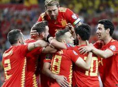 Отбор на Евро 2020. Испания громит «Тре Крунур»