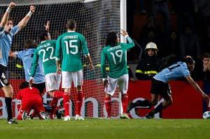 Уругвай - Мексика фото