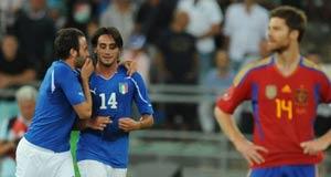 Италия - Испания 2:1 фото