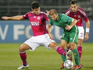 Лушие матчи Лиги чемпионов Лион - Рубин