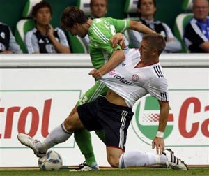вольфсбург - бавария 0:1 фото