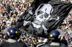 партизан фанатские баннеры