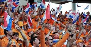 Поездка на футбол голландских фанатов
