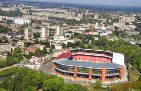 Стадион с птичьего полёта