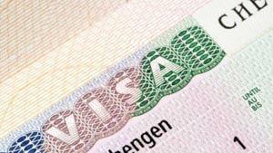 Виза необходима для поездки в Европу