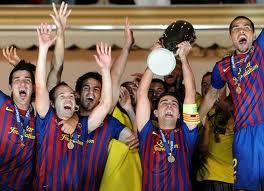 Барселона празднует!