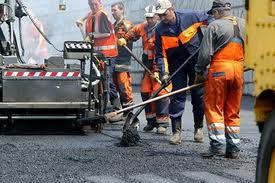 Стройка дорог к Евро-2012