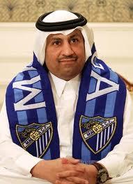 Абдула Насер Аль-Тани - президент Малаги