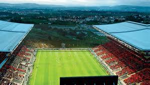 Стадион в Браге имеет всего две тирбуны
