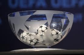 Жеребьёвка Лиги Чемпионов 2011-2012