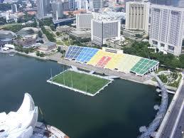 Марина Бей - стадион на воде