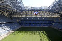 Внутри стадиона в Познани