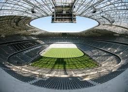 Стадион Баварии - вид изнутри