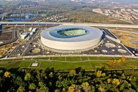 Вроцлав - стадион к Евро 2012