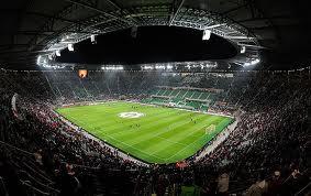На матче открытия арены в Вроцлаве