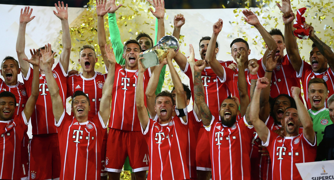 Суперкубок германии 2008. боруссия 2 1 бавария